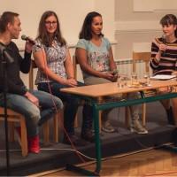Debata s velkomeziříčskými sportovci - boxer, snowboardistka a házenkářka!