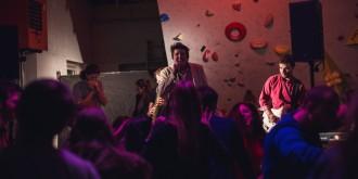 LetRouRou to v sobotu na lezecké stěně opravdu rozjeli!